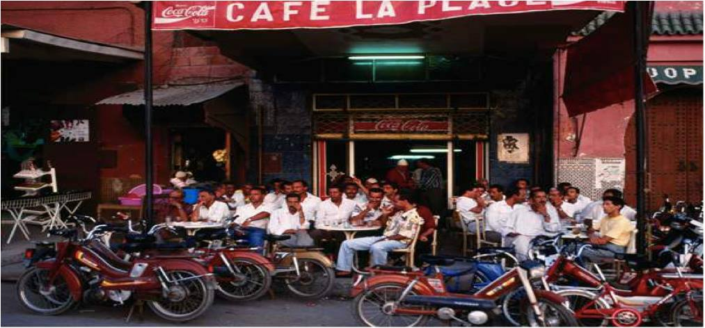 Cafes in Morocco