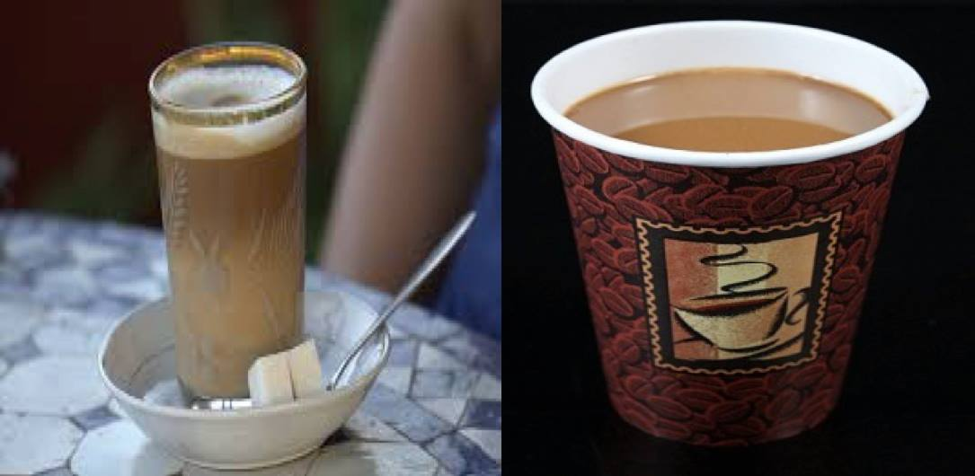 Coffee in Morocco and USA