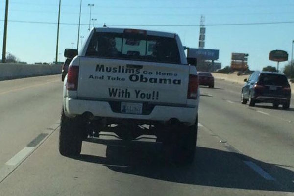 Muslims Go Back Home and Take Obama With You'