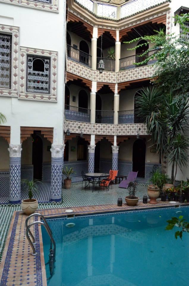 Riad in Fez Medina