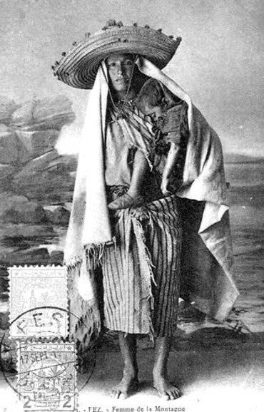 Moroccan mountain woman from the North