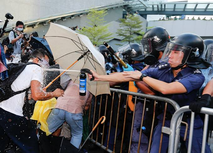 Occupy Central with love and peace
