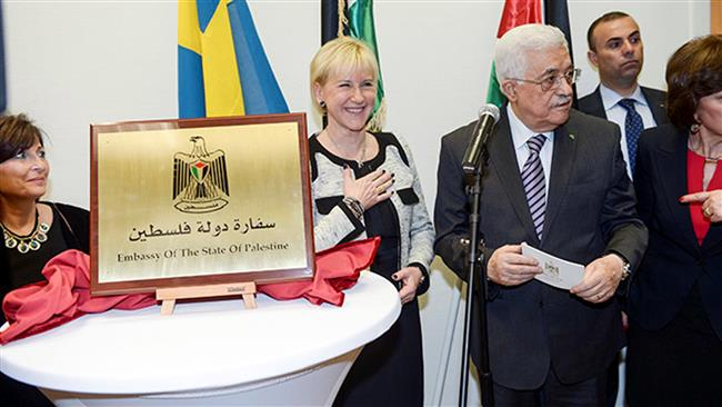 Palestine opens its Embassy in Sweden