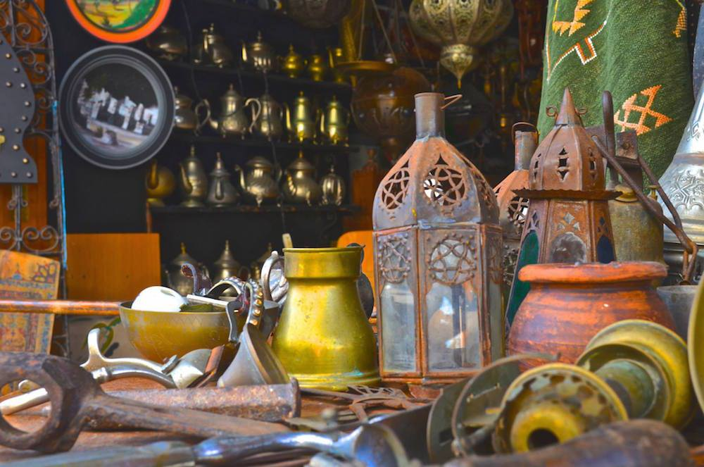 Shop in Morocco.