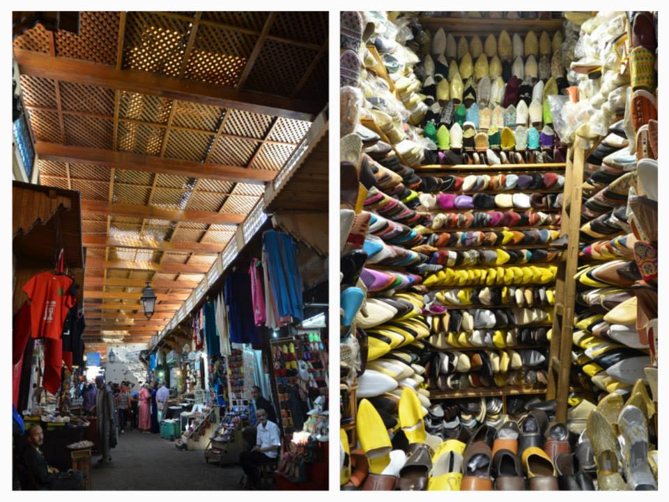 Souk Sebbat in Fez. Photo By Isabela Bernal