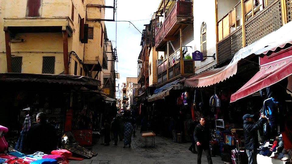 The Mellah Neighborhood of Fez, Morocco