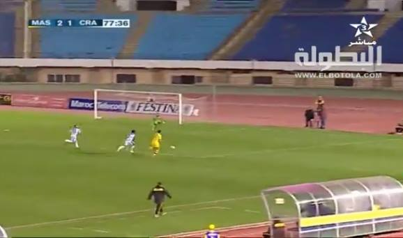 Fantastic Goal in Morocco's Football League
