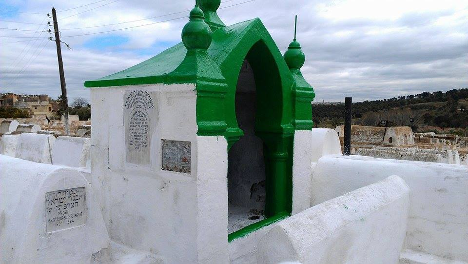 The Tomb of Lalla Soulika in the cemetery of Fez.