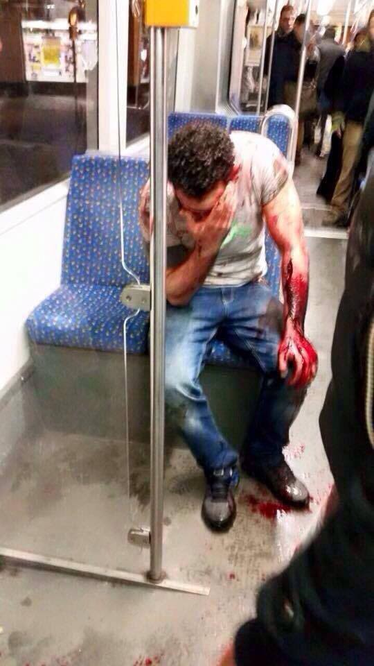 young Muslim man was apparently attacked in Kassel, Germany