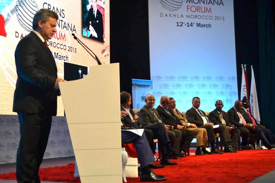 25th Crans Montana Forum Kicks off In Dakhla