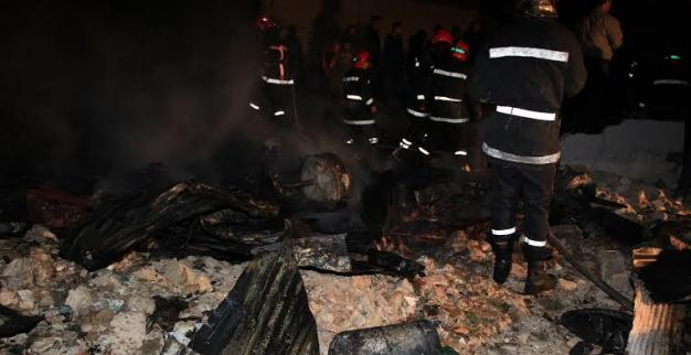 Blaze Rips a Shanty Slum in Casablanca