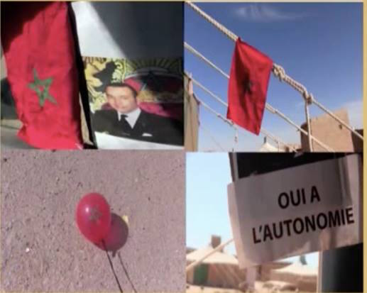 Dissident Group Raises Moroccan Flag Inside Tindouf Camps