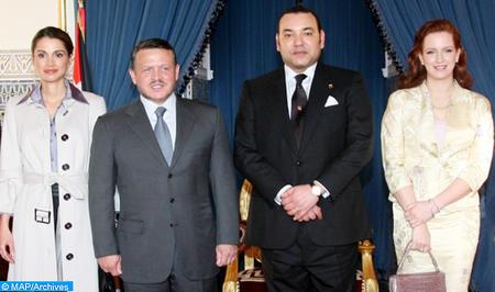 King Abdullah II, Queen Rania of Jordan to Visit to Morocco