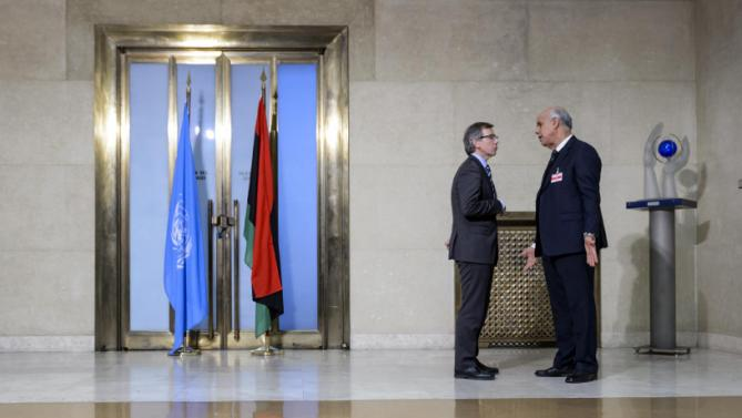 Libya Peace Talks in Morocco