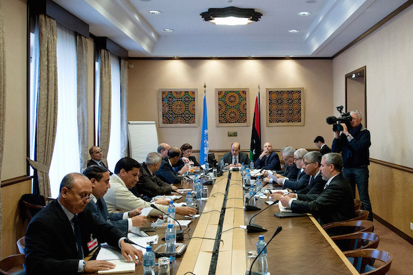 Libyan Political Talks in Morocco