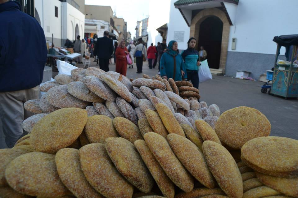 Moroccan Bread sold in Rabat Medina