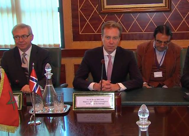 Norway's Foreign Minister Borge Brend