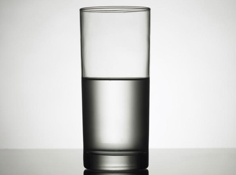 The Cup Half Full or Half Empty
