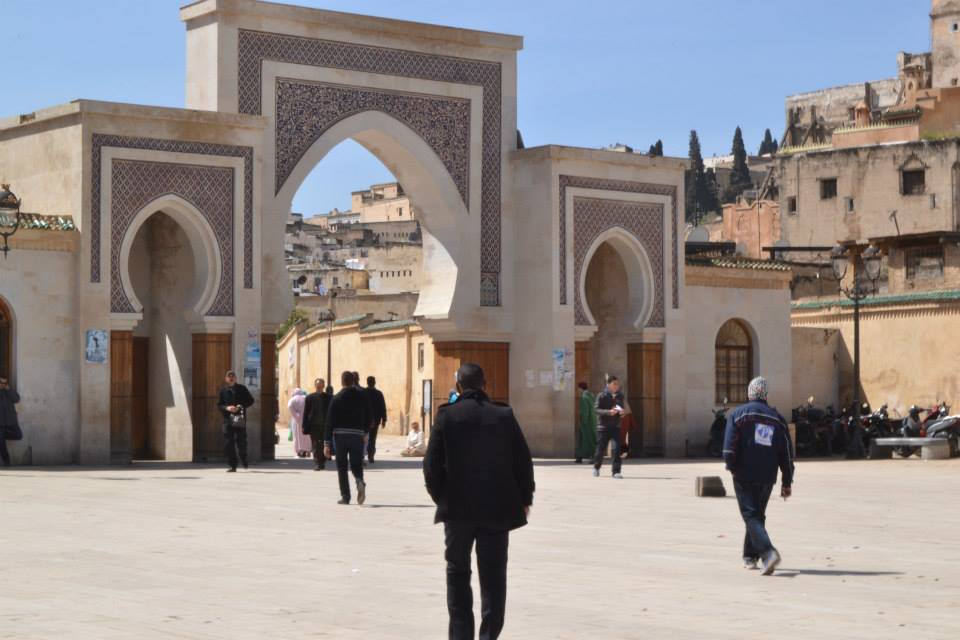 The Medina of Fez. The Gate of Rassif