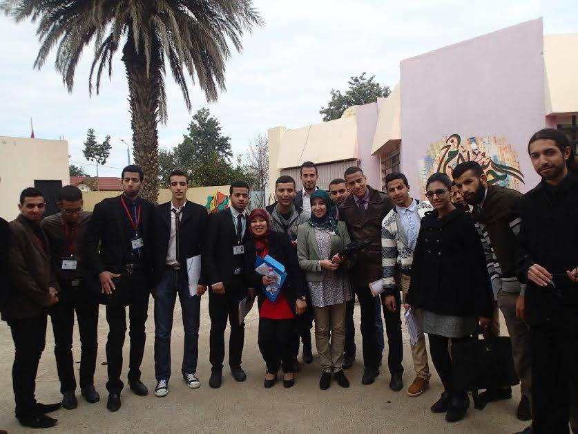 The newly established Moroccan Youth Peace Summit (MYPS) held its first instructional camp in Sidi Sliman. Moroccan Students