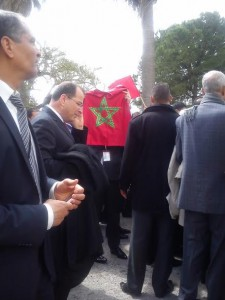 Tunisia- Moroccans Participate in International March Against Terrorism