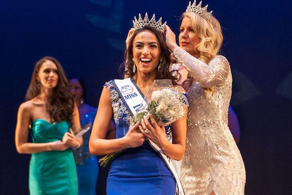 In Pictures Miss New York, Morocco's Iman Oubou