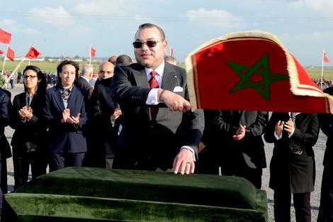 King Mohammed VI in Kenitra