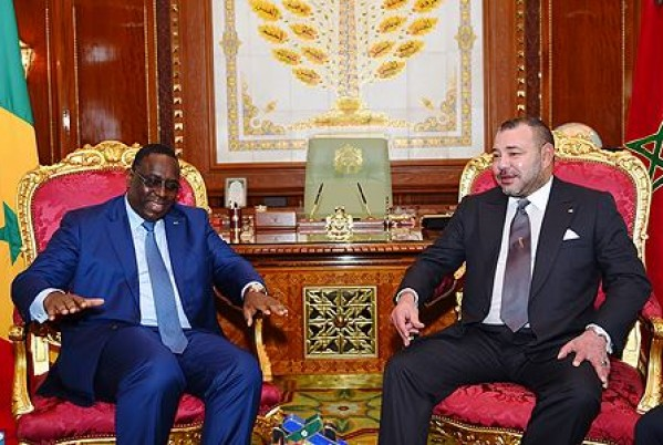Macky Sall and the king mohammed VI