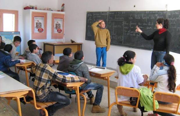 Moroccan education, Students in calssroom
