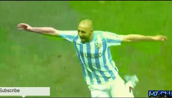 Morocco's Amrabet's Goal in Spanish Liga