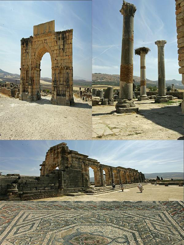 The Archaeological Site of Volubilis