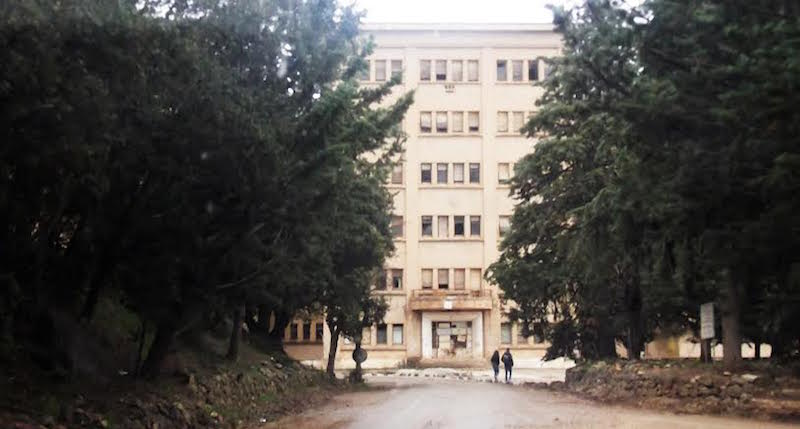 The Ben Samim hospital covers over 40 acres