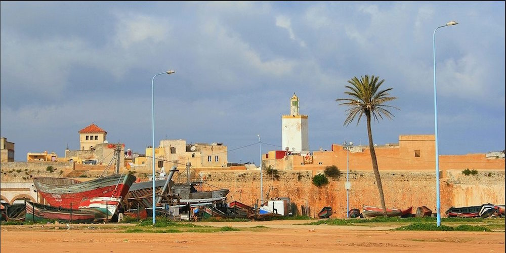 The Town of El Jadida in Morocco