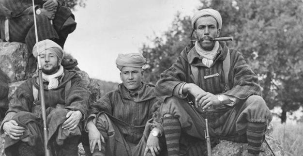 moroccan soldiers