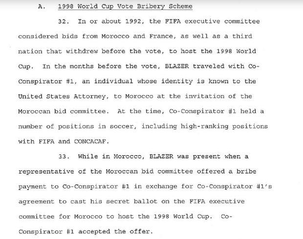 1998 FIFA bribery scheme