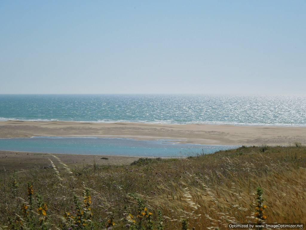 Ain Dalia beach in Tangier