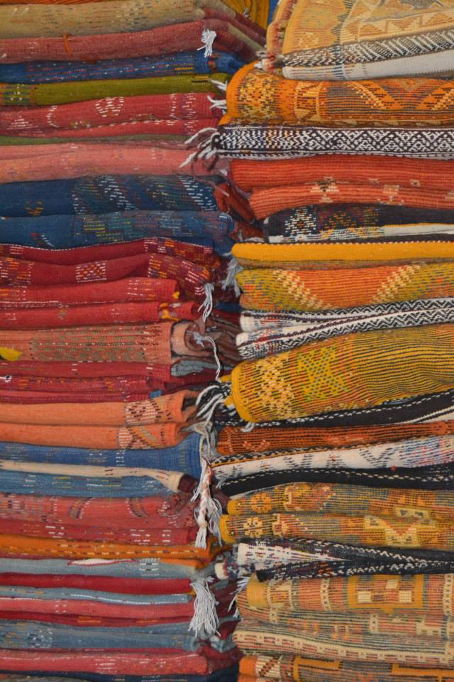 Berber rugs from Fez, Morocco