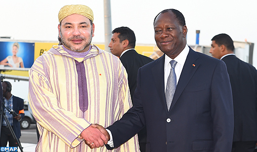 King Mohammed VI and Alassane Ouattara