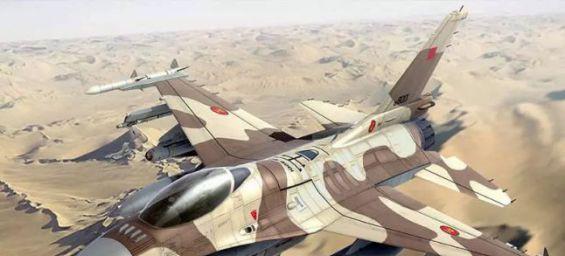 Moroccan F-16 jet