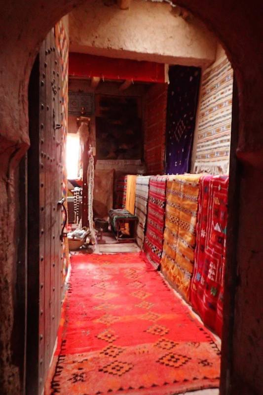 Moroccan rugs. Simply visiting Morocco