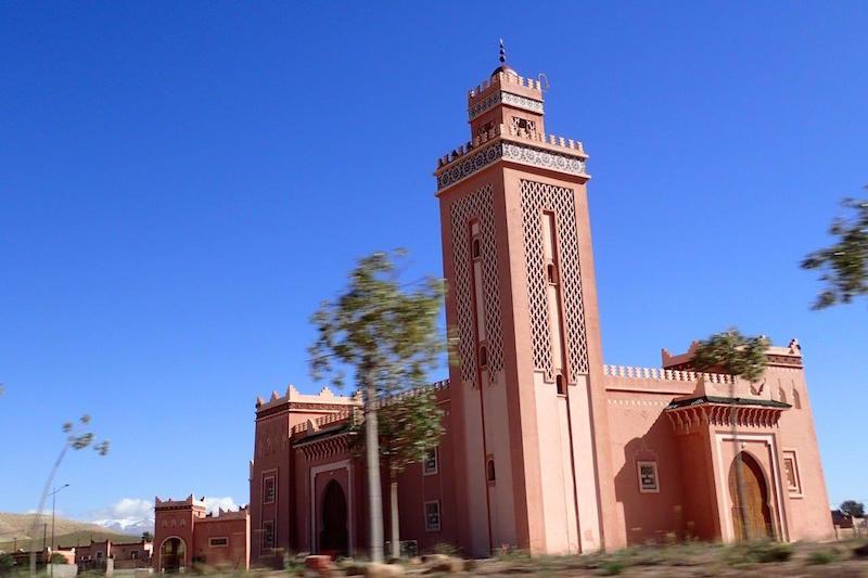 Mosque in the Moroccan Sahara