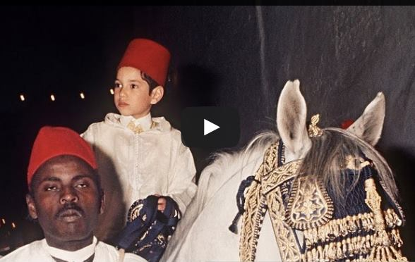 Rare Video: Circumcision Ceremony of King Mohammed VI in 1971