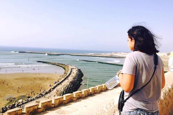Sara Gomez in Morocco