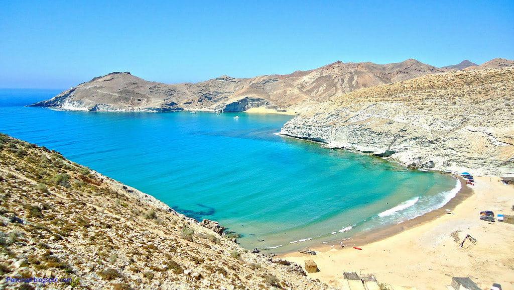 Tcharrana beach in Nador