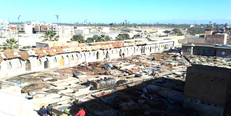 The Tanneries in Marrakech