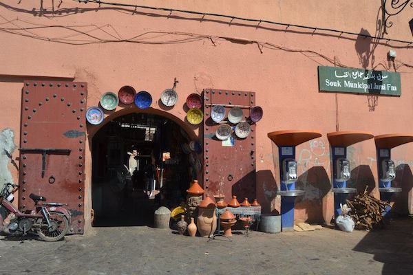 The city of Marrekch in Morocco