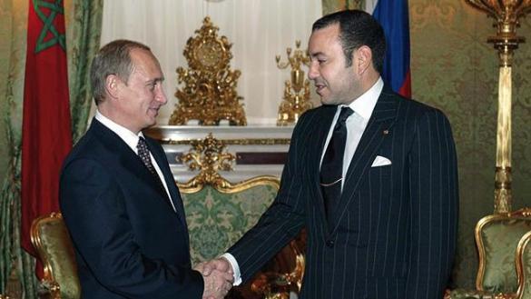 Vladimir Putin Invites King Mohammed VI to Visit Russia
