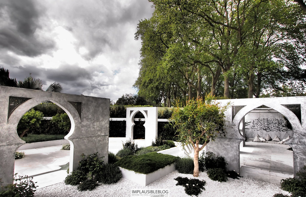 In Pictures Islamic Garden Wins Chelsea Show Prize