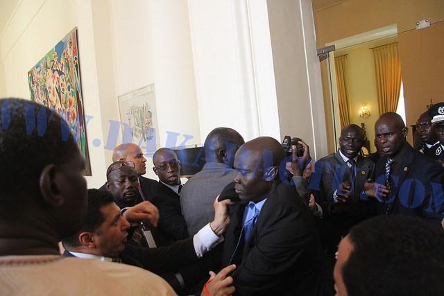 Mohammed VI' bodyguard