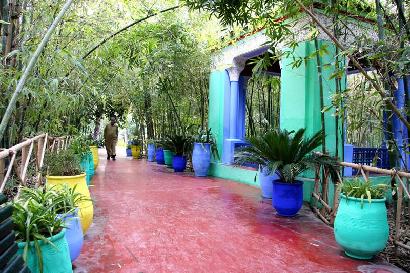 In pictures jardin majorelle in marrakech for Jardin majorelle 2015